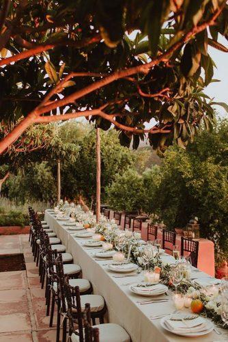 park wedding reception decor Andreas Holm