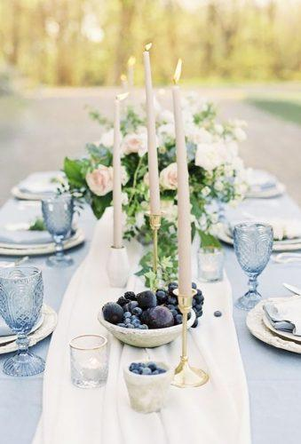 park wedding candle in table decor Andrew Mark Photography