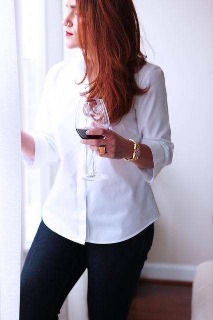 White Shirt At Home Tanvii.com