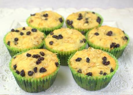 Irish Soda Bread Muffins  #MuffinMonday