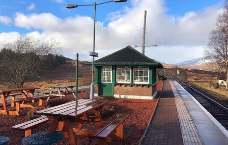 Review: Rannoch Station Tearoom, Perthshire