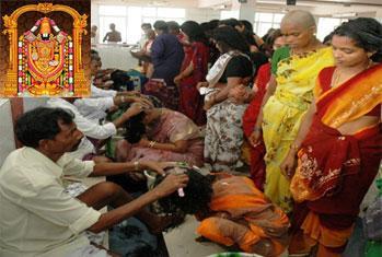 Mokku at Tirupati Tirumala Balaji