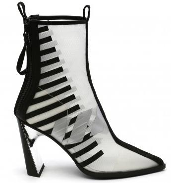 Shoe of the Day | United Nude Molten Calli Hi Printed Mesh Boots