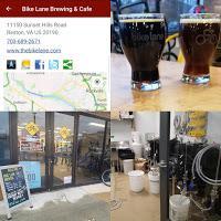 W&OD Bike Trail: Reston's Bike Lane Brewing & Cafe