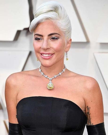 Lady Gaga Wears The Tiffany Diamond At The 2019 Oscars