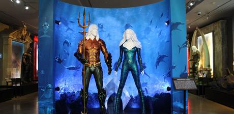 Aquaman will be making a  splash as the latest addition to DC Universe: The Exhibit. Fans will get a first-hand look at the intricate details etched in the armored suits of Aquaman, Mera and more.