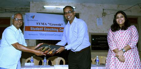 Pooja for students of SYMA Growth 11th batch - 2019