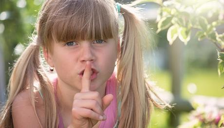Image: Child saying Quiet, by Petra/Pezibear on Pixabay