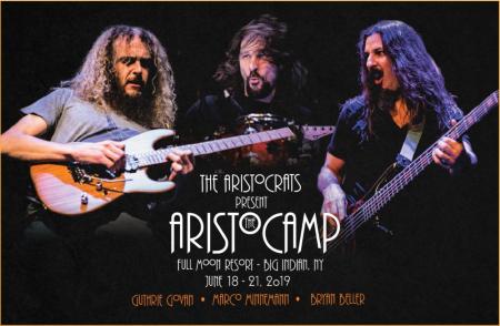 The Aristocrats: The Aristocamp @ Full Moon Resort, NY