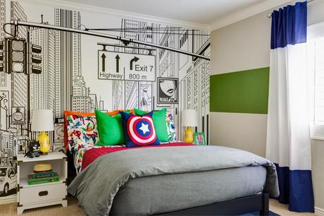 Superhero Mens Bedroom Ideas