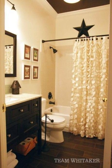 Guest Bathroom Ideas Attractive Shower Curtain for Rustic Bathroom - Harptimes.com