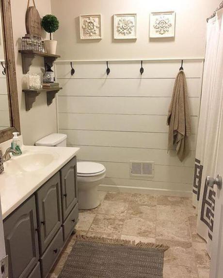 Guest Bathroom Ideas Guest Bathroom Ideas with Shiplap Walls - Harptimes.com