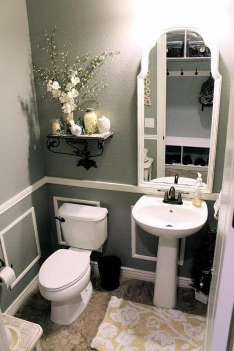 Guest Bathroom Ideas Relaxing Small Gray Bathroom - Harptimes.com