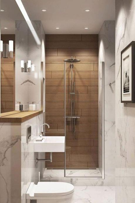 Guest Bathroom Ideas Interesting Bathroom Design with Floating Sink - Harptimes.com