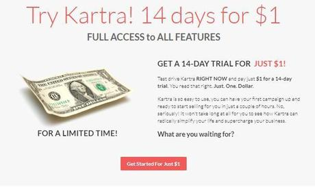 Kartra Discount Coupon Codes 2019: Try Kartra! (14 Day Trial Just $1 Now)