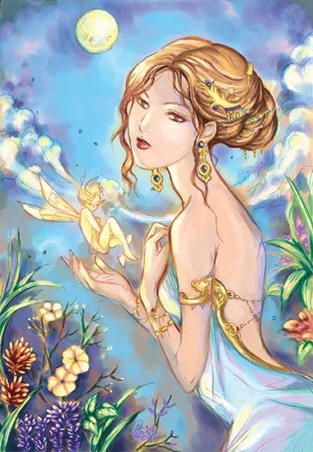 Binah Moon's Fantasy Art Collection