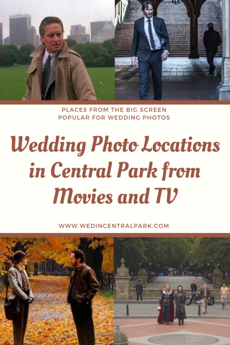 Wedding Photo Locations in Central Park From Film and TV