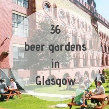 Glasgow bars to soak up some sun