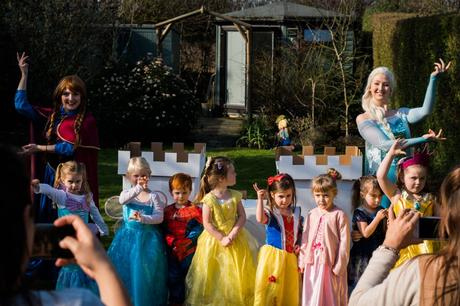 When Your Baby Turns 4 – Birthday Party Family Photography
