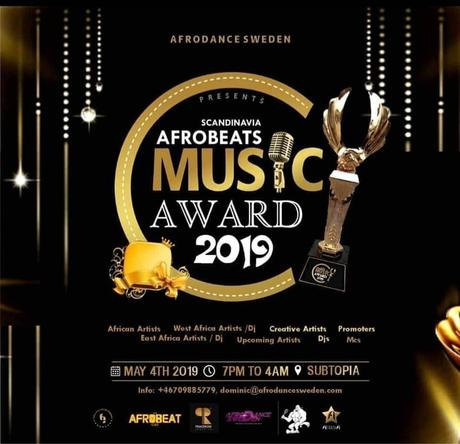 Kenyan top female nominated for the best female afrobeat award in Sweden