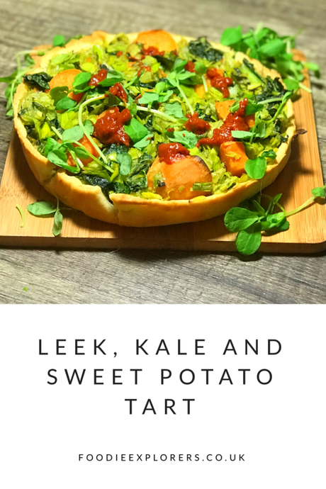 Recipe: Leek, Kale and Sweet Potato Tart