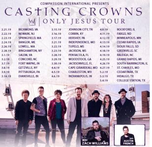 Casting Crowns Celebrates 14th No. 1 Radio Single