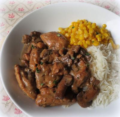 Balsamic Chicken & Mushrooms