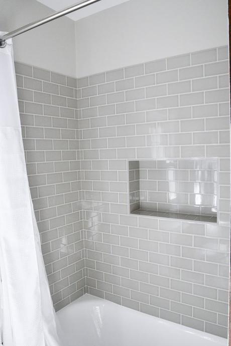 Bathroom Wall Decor Gray Bathtub Wall Tile - Harptimes.com