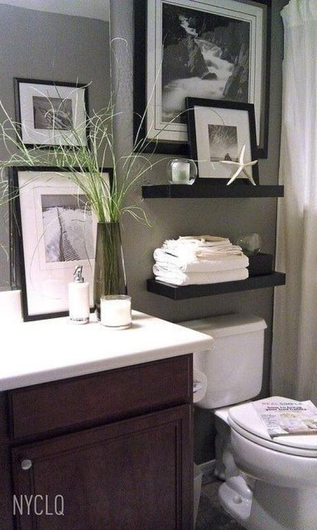 Bathroom Wall Decor Black And White Wall Decor - Harptimes.com