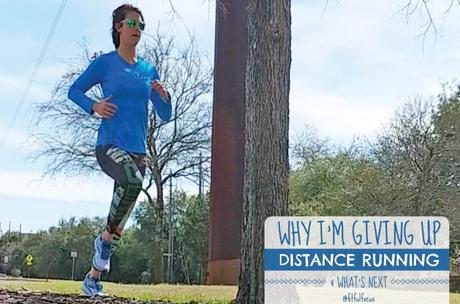 Why I'm Giving Up Distance Running