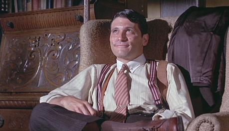 The Grissom Gang: Tony Musante's Brown Striped Suit