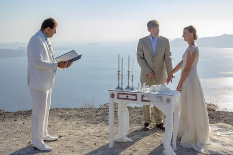 Santorini Elopement with a wedding package