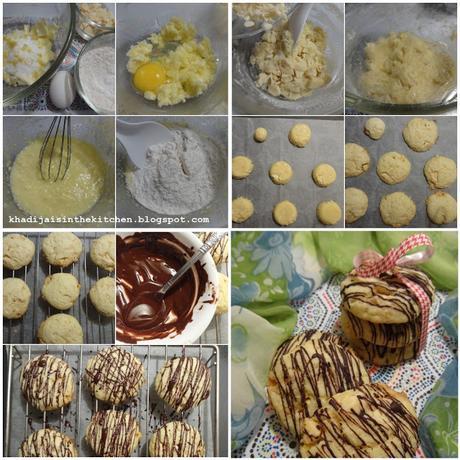 BISCUITS AU CHOCOLAT BLANC ET AU CITRON / WHITE CHOCOLATE LEMON COOKIES / GALLETAS CON CHOCOLATE BLANCO Y LIMÓN / بيسكوي بالشوكولاته البيضاء والليمون