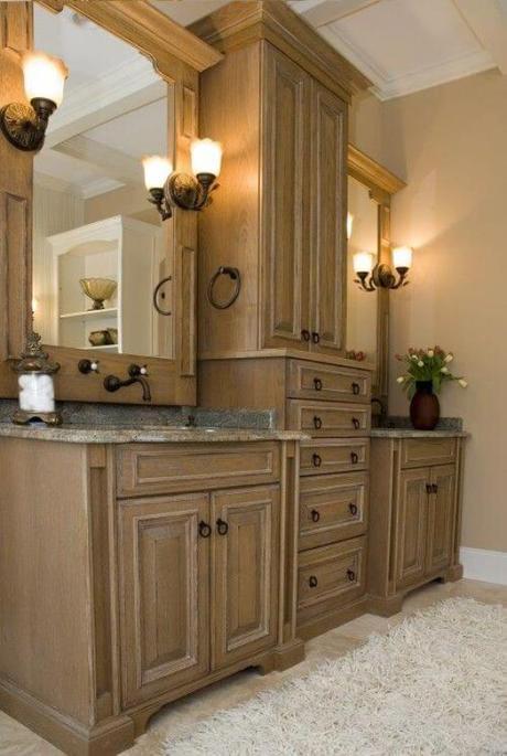 Bathroom Cabinet Ideas Wooden Tower Cabinet for Bathroom - Harptimes.com