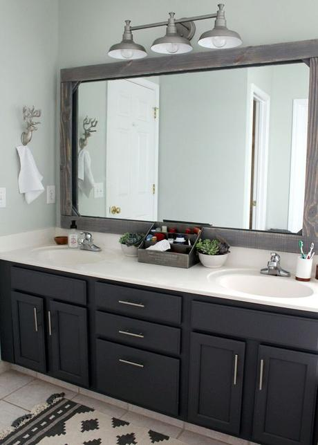 Bathroom Cabinet Ideas Affordable Bathroom Remodel with Black Cabinet - Harptimes.com