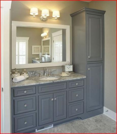 Bathroom Cabinet Ideas Tall Linen Cabinets for Bathroom - Harptimes.com