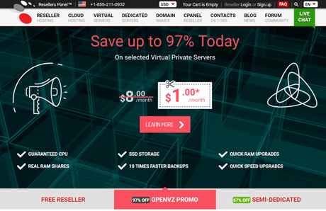 ResellersPanel Hosting Discount Promo Codes 2019: Save Upto 97% Now