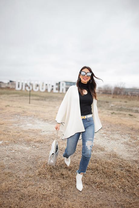 Four Chic Ways to Wear a Shawl + Shopbop Sale
