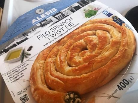 Product: Alesis Filo Spinach Twist Pie