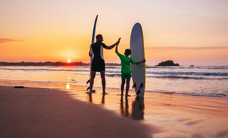 Teaching Surf for Beginners