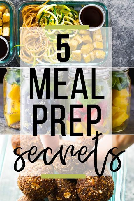 5 Meal Prep Secrets