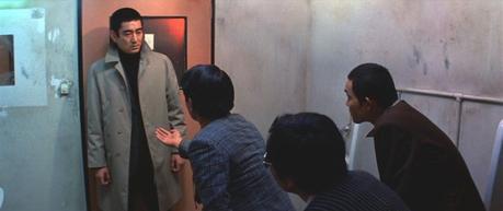 The Yakuza: Ken Takakura in Gray Herringbone