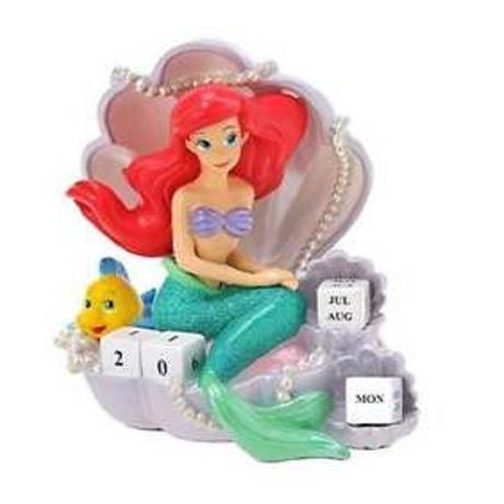 Disney Little Mermaid Ariel Standing Figural Calendar
