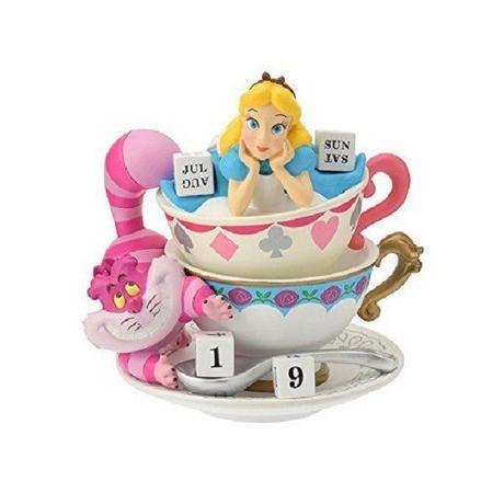 Lewis Carroll in Alice's Adventures in Wonderland Standing Figural Calendar