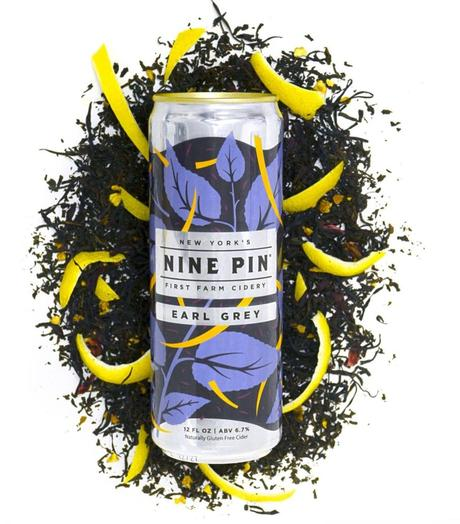 NEW BEVERAGE ALERT: Nine Pin Releases Earl Grey Cider in Cans