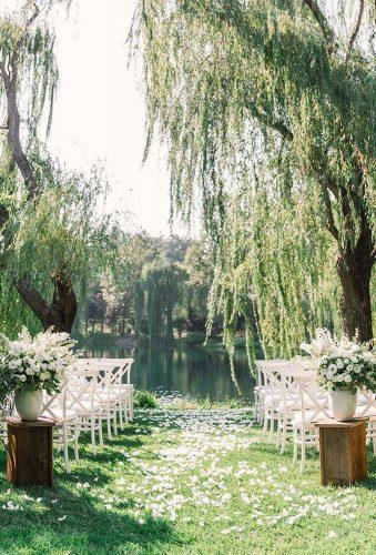 outdoor wedding venues backyard ceremony jennyyoo
