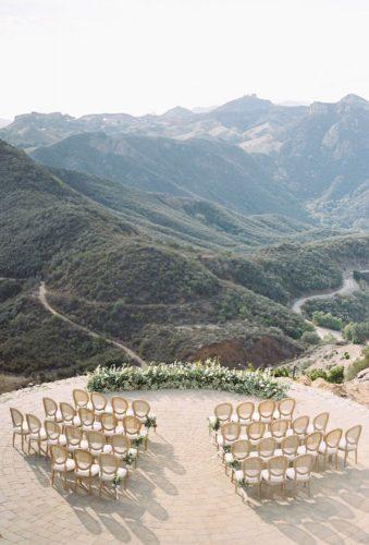 outdoor wedding venues mountain ceremony decor Kurt Boomer