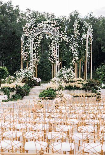 outdoor wedding venues garden ceremony andrew bayda
