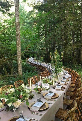 outdoor wedding venues forest table decor wonderstruckeventdesign