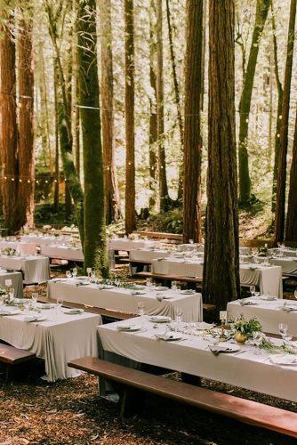 outdoor wedding venues foret reception Lillywhite Photography